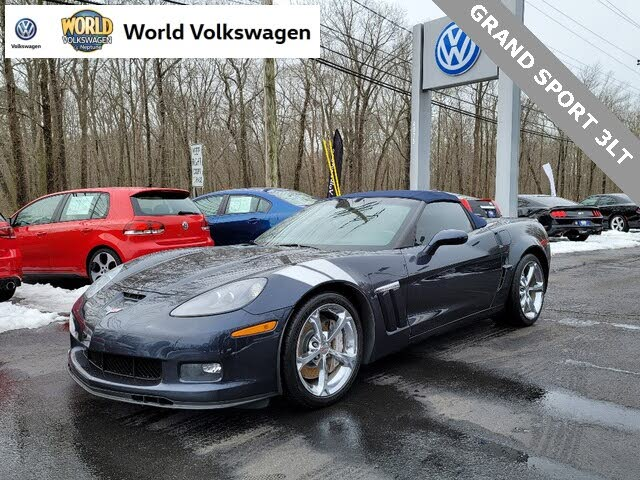 2013 Chevrolet Corvette Z16 Grand Sport 3LT Convertible RWD