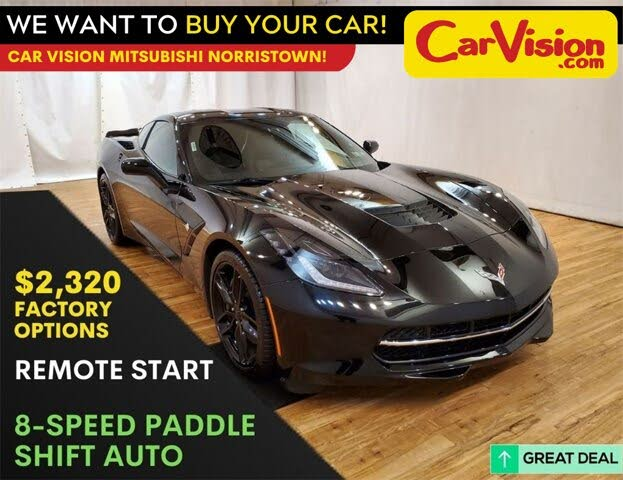 2018 Chevrolet Corvette Stingray Z51 1LT Coupe RWD