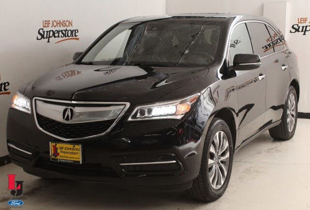 2016 Acura MDX FWD with Technology, Entertainment, and AcuraWatch Plus Package