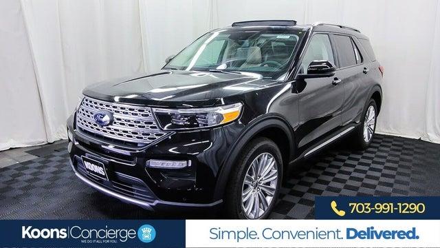 2020 Ford Explorer Hybrid Limited AWD