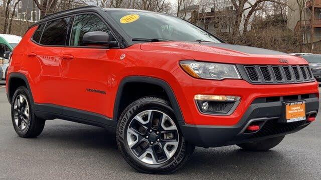 2017 Jeep Compass Trailhawk 4WD