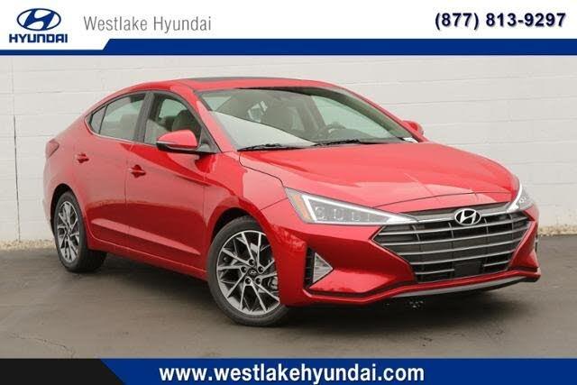 2020 Hyundai Elantra Limited Sedan FWD