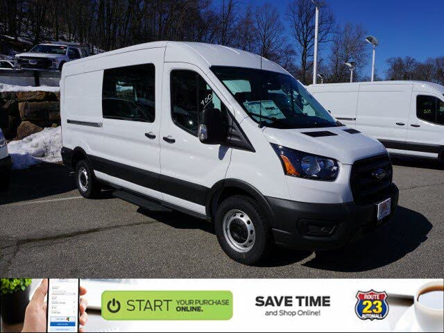 2020 Ford Transit Crew 250 RWD with Sliding Passenger-Side Door