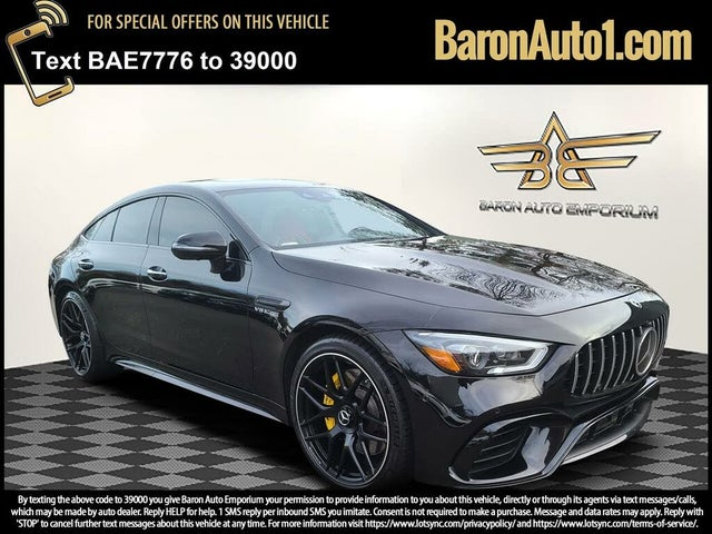 2019 Mercedes-Benz AMG GT 63 S Sedan 4MATIC AWD