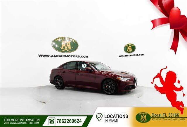 2019 Alfa Romeo Giulia Ti Sport Carbon RWD