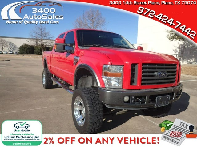 2008 Ford F-250 Super Duty FX4 Crew Cab