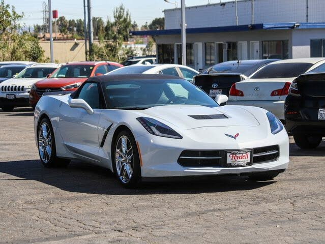 2018 Chevrolet Corvette Stingray 1LT Convertible RWD