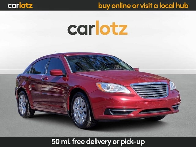 2014 Chrysler 200 LX Sedan FWD