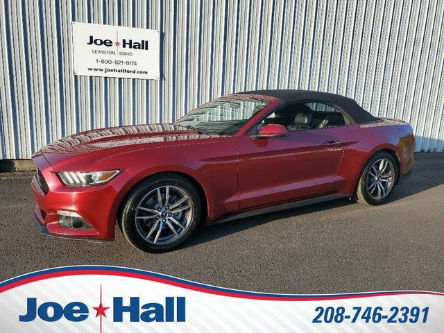 2017 Ford Mustang EcoBoost Premium Convertible RWD