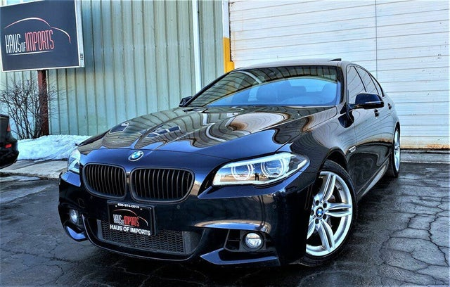 2016 BMW 5 Series 550i xDrive Sedan AWD