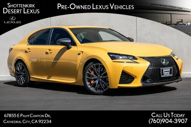2019 Lexus GS F F RWD
