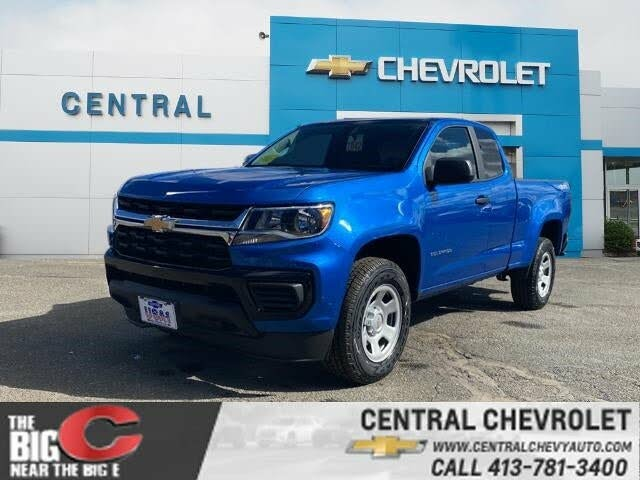 2021 Chevrolet Colorado Work Truck Extended Cab 4WD