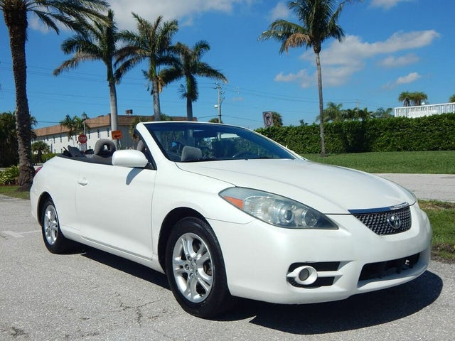 2007 Toyota Camry Solara 2 Dr Sport Convertible