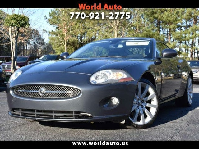 2007 Jaguar XK-Series XK Coupe RWD