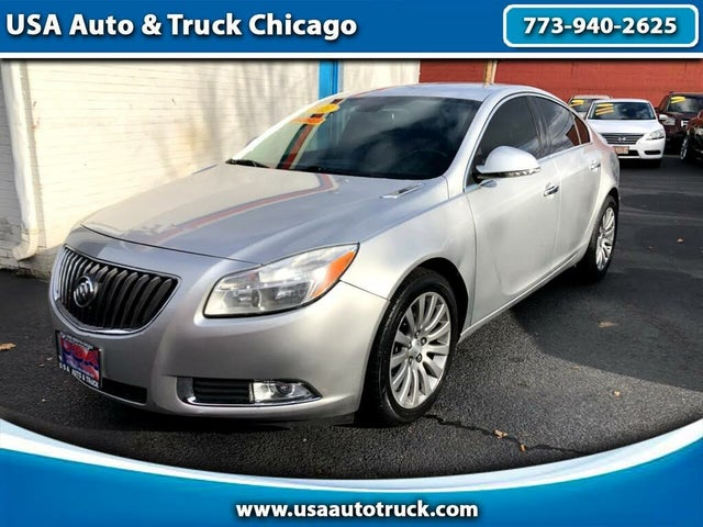 2013 Buick Regal Premium I Turbo Sedan FWD