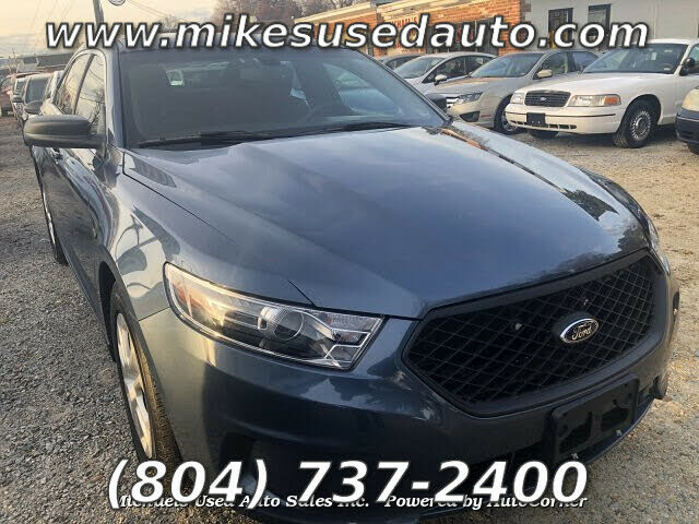 2018 Ford Taurus Police Inteceptor AWD