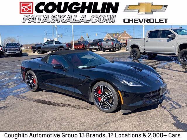 2016 Chevrolet Corvette Stingray 1LT Convertible RWD