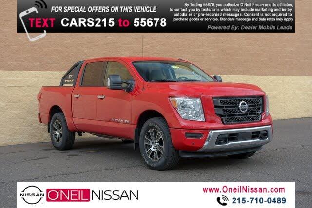 2020 Nissan Titan SV Crew Cab 4WD