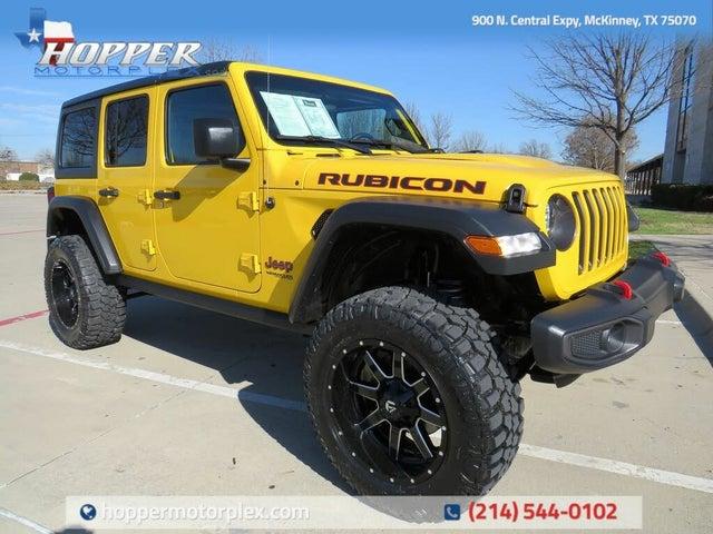2021 Jeep Wrangler Unlimited Rubicon 4WD