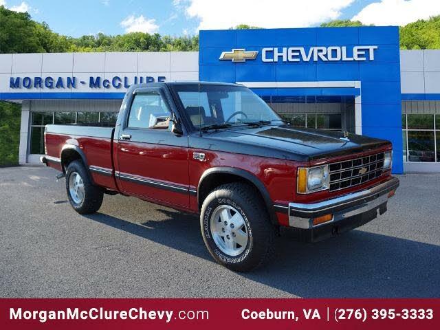 1988 Chevrolet S-10 4WD