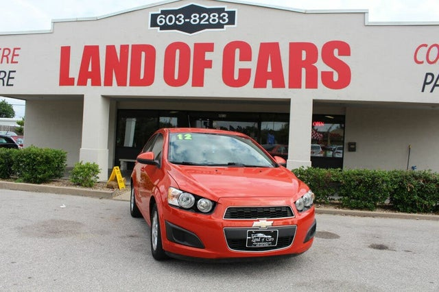 2012 Chevrolet Sonic 2LS Sedan FWD