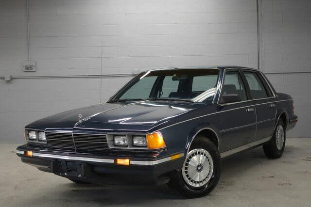 1987 Buick Century Custom Sedan FWD