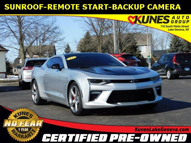 2017 Chevrolet Camaro 1SS Coupe RWD