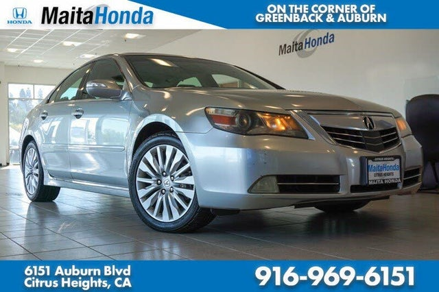 2012 Acura RL SH-AWD with Advance Package