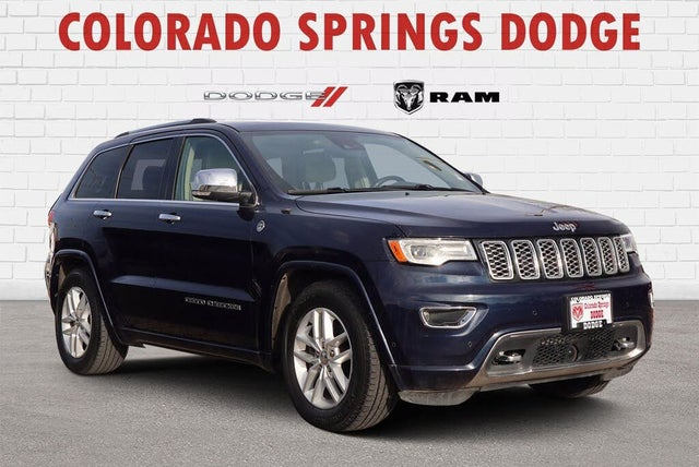 2017 Jeep Grand Cherokee Overland 4WD