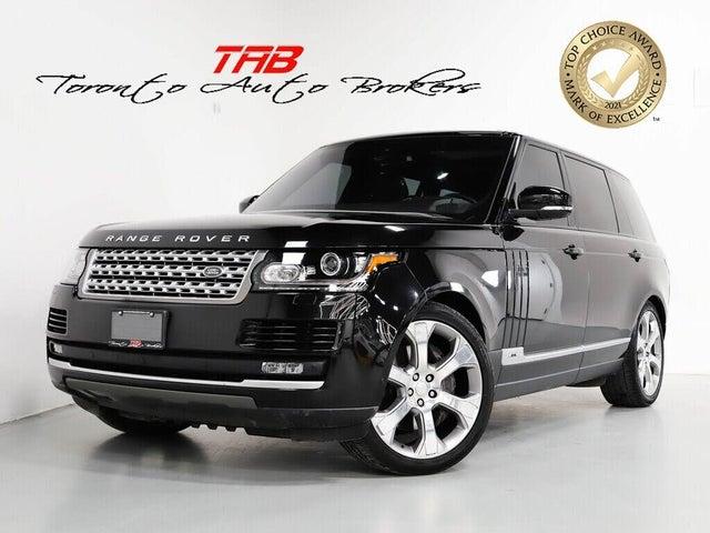 2016 Land Rover Range Rover V8 Supercharged LWB 4WD