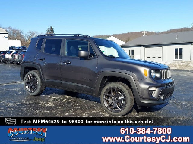 2021 Jeep Renegade 80th Anniversary Edition 4WD