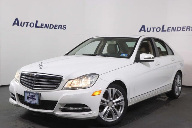2013 Mercedes-Benz C-Class C 300 Luxury Sedan 4MATIC