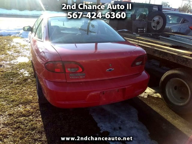 2000 Chevrolet Cavalier Coupe FWD