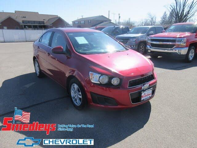2012 Chevrolet Sonic 1LT Sedan FWD