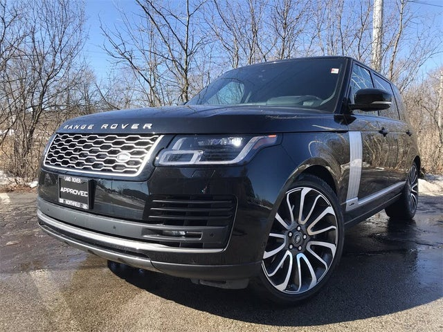 2020 Land Rover Range Rover Supercharged V8 LB 4WD