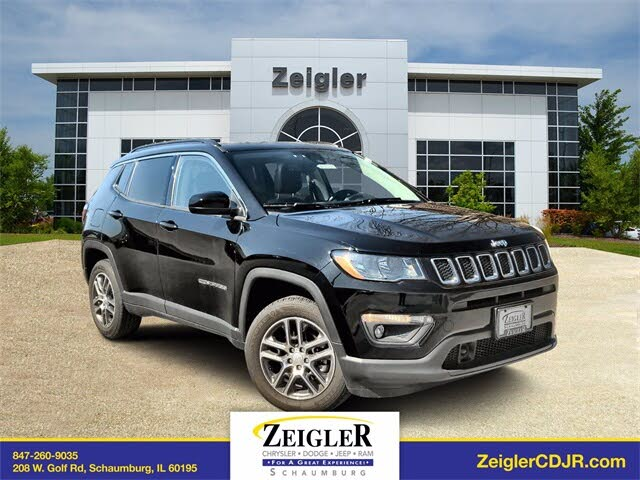 2020 Jeep Compass Latitude with Sun and Safety Package 4WD