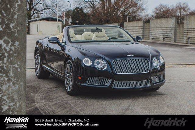2013 Bentley Continental GTC V8 AWD