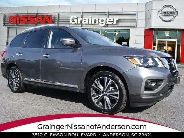2020 Nissan Pathfinder Platinum FWD