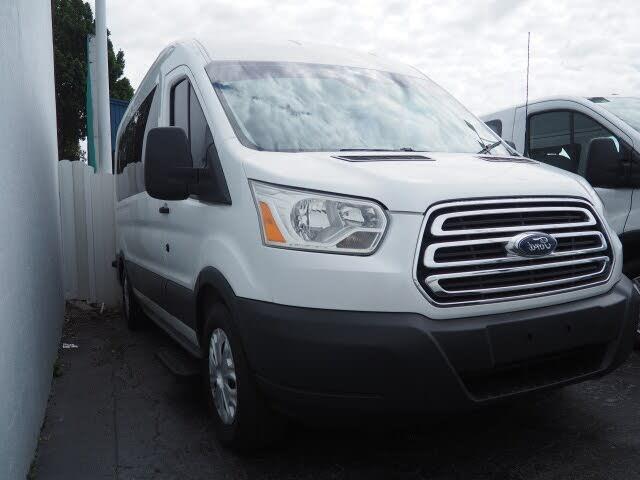 2016 Ford Transit Passenger 350 XL Medium Roof LWB RWD with Sliding Passenger-Side Door