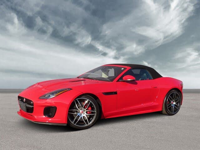 2020 Jaguar F-TYPE Checkered Flag Limited Edition Convertible RWD