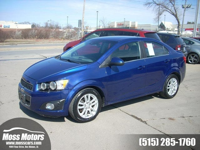 2014 Chevrolet Sonic LT Sedan FWD