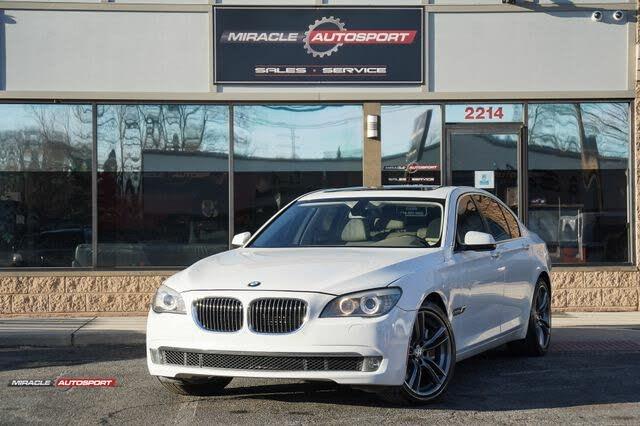 2010 BMW 7 Series 750i RWD
