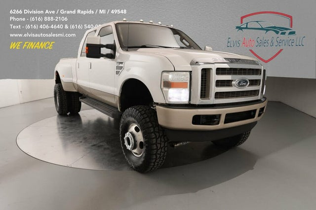 2010 Ford F-350 Super Duty King Ranch Crew Cab LB DRW 4WD