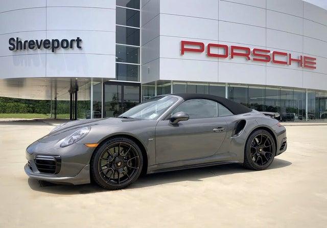 2019 Porsche 911 Turbo S Exclusive Convertible AWD