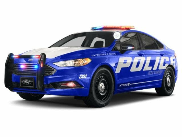 2020 Ford Fusion Hybrid Police Responder FWD