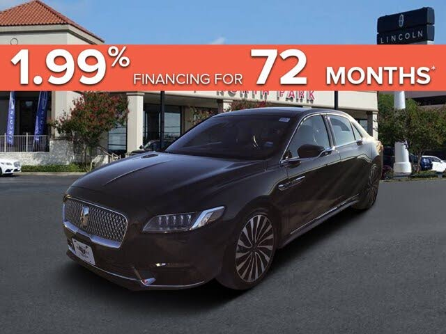 2017 Lincoln Continental Black Label AWD