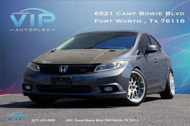 2012 Honda Civic Si with Summer Tires