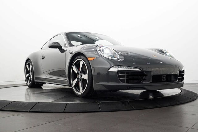 2014 Porsche 911 50th Anniversary Edition Coupe RWD
