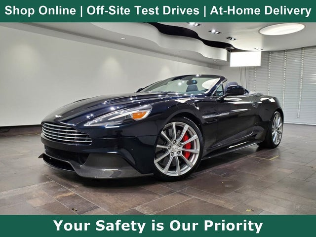Used 2016 Aston Martin Vanquish Volante Convertible Rwd For Sale Right Now Cargurus