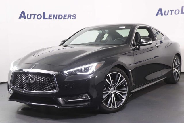2018 INFINITI Q60 2.0t Luxe Coupe AWD